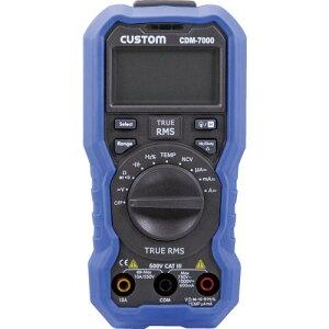 カスタム デジタルマルチメータ CDM-7000 ( CDM7000 ) (株)カスタム