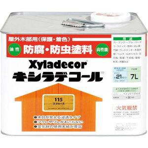 KANSAI キシラデコール スプルース 7L ( 00017670740000 ) (株)カンペハピオ
