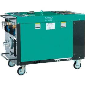 スーパー工業 ディーゼルエンジン式大型散水機 (防音型) SEL-300SS-3 ( SEL300SS3 ) スーパー工業(株)