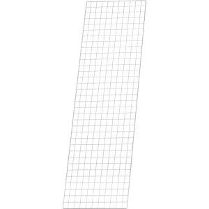 TRUSCO スチール製メッシュラック用バックネット 1700X539 MES-S1760 ( MESS1760 ) トラスコ中山(株)