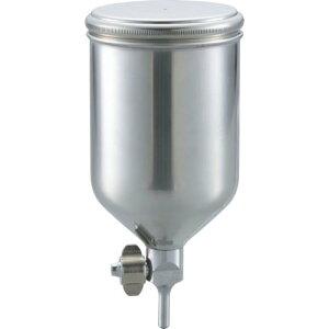 TRUSCO ステンレス塗料カップ 重力式用 容量0.4L 脚付 TGC-04C ( TGC04C ) トラスコ中山(株)