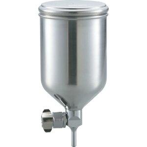 TRUSCO フリーアングル塗料カップ 重力式用 容量0.4L 脚付 TGC-04FA ( TGC04FA ) トラスコ中山(株)