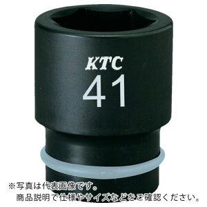 KTC 19.0sq.インパクトレンチ用ソケット(標準)ピン・リング付27mm BP6-27P ( BP627P ) 京都機械工具(株)