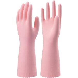 ショーワ ニトリルゴム手袋 ナイスハンドエクストラ中厚手 Mサイズ ピンク NHEXC-MP P ( NHEXCMP ) ショーワグローブ(株)