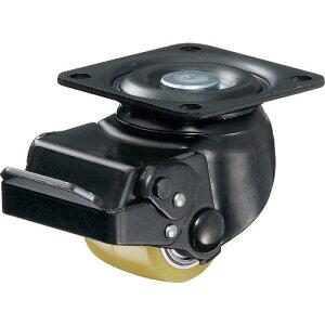 ハンマー 低床重荷重用旋回式ウレタン車輪(アルミホイール・ボールベアリング)50mm SP付 545S-BAU50-BAR01 ( 545SBAU50BAR01 ) ハンマーキャスター(株)