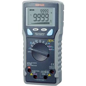 SANWA デジタルマルチメータ パソコン接続型 ( PC700 ) 三和電気計器(株)