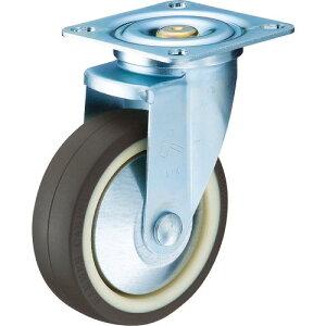 ハンマー 旋回式ウレタン車輪(ナイロンホイール・ボールベアリング)100mm 特殊鋼熱処理金具 420YS-UB100-BAR01 ( 420YSUB100BAR01 ) ハンマーキャスター(株)
