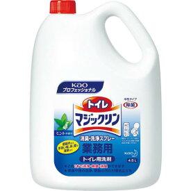 Kao トイレマジックリン消臭・洗浄スプレー 4.5L ( 504302 ) 花王グループカスタマーマーケティング(株)