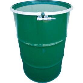 JFE 鋼製ドラム缶 オープンタイプ ボルトバンド式 200L KD-200BST ( KD200BST ) JFEコンテイナー(株)