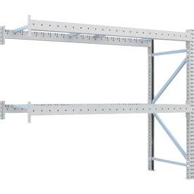 トラスコ(TRUSCO) 重量パレット棚2トン2300×900×H2000連結 2段 2D-20B23-09-2B ( 2D20B23092B ) トラスコ中山(株)