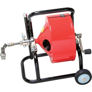 ヤスダ 排水管掃除機F4型キャスター型 清掃能力9m F4-12-9 ( F4129 ) (株)ヤスダトーラー