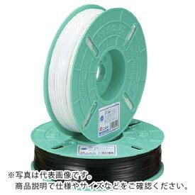 ビニタイ PVCリール巻 4mm×600M 黒 QC-600-7A ( QC6007A ) (株)共和