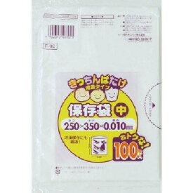 サニパック F−02きっちんばたけ保存袋(中)半透明100枚 F-02-HCL ( F02HCL ) 日本サニパック(株)