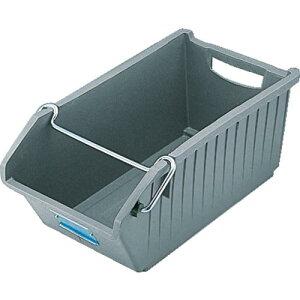 DIC B型コンテナ B−3S 外寸:W351×D220×H145 グレー B-3S GY ( B3S ) DICプラスチック(株) 容器資材営業部