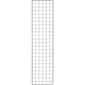 トラスコ(TRUSCO) 棚用ディスプレイネット 金具付 300X1200 黒 TN-3012 ( TN3012 ) トラスコ中山(株)