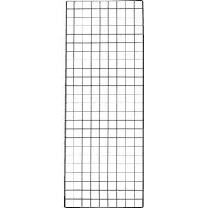 トラスコ(TRUSCO) 棚用ディスプレイネット 金具付 450X1200 黒 TN-4512 ( TN4512 ) トラスコ中山(株)