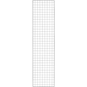 トラスコ(TRUSCO) 棚用ディスプレイネット 金具付 450X1800 黒 TN-4518 ( TN4518 ) トラスコ中山(株)