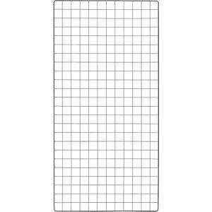 トラスコ(TRUSCO) 棚用ディスプレイネット 金具付 600X1200 黒 TN-6012 ( TN6012 ) トラスコ中山(株)