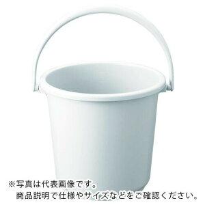 TRUSCO PPカラーバケツ 15L 白 TPPB-15-W ( TPPB15W ) トラスコ中山(株)