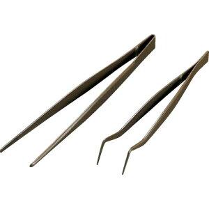 フロンケミカル フッ素樹脂コーティングピンセット 150mm 膜厚約50μ NR0366-002 ( NR0366002 ) (株)フロンケミカル