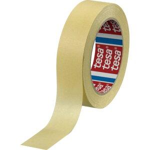 tesa マスキングテープ建築内装・養生用 25mm×50m 黄 4323-25-50 ( 43232550 ) テサテープ(株)