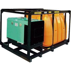 スーパー工業 ディーゼルエンジン式大型散水機SEL−300SSW−3(防音型) SEL-300SSW-3 ( SEL300SSW3 ) スーパー工業(株) 【メーカー取寄】