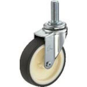 ハンマー ねじ込み旋回式ウレタン車輪(ナイロンホイール)125mm M16 420EA-UR125-BAR01 ( 420EAUR125BAR01 ) ハンマーキャスター(株)