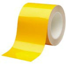 ミドリ安全 ベルデビバハードテープ 黄 100mmX20m VHT-100-Y ( VHT100Y ) ミドリ安全(株)