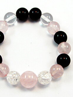 Onyx Rose Quartz bracelet [standard]