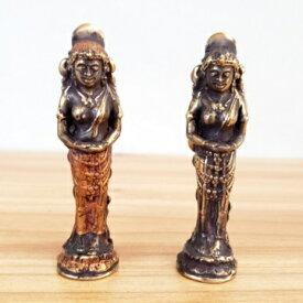 ブロンズ像 神様 仏像 2カラーあり バリ雑貨 インテリア 観音菩薩 シヴァ神 銅像 真鍮