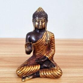 ブロンズ像 置物 神様 仏像 バリ雑貨 インテリア 観音菩薩 銅像 真鍮