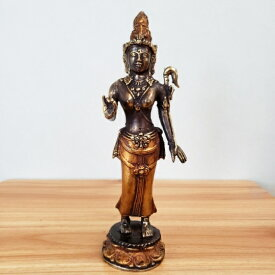 ブロンズ像 置物 神様 仏像 バリ雑貨 インテリア 観音菩薩 シヴァ神 銅像 真鍮