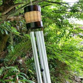 風鈴 ドアチャイム アジアン雑貨 バリ雑貨 バンブー スチールパイプ 竹ふうりん