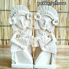 バリニーズ パラス石 置物 バリ 石像 石彫り アジアン インテリア オブジェ