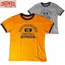 """Tシャツ CHESWICK/チェスウィックS/SリンガーTシャツ """"SAN FRANCISCO""""S・M・Lサイズ 2カラー メンズ【あす楽】"""