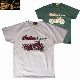 半袖Tシャツ INDIAN MOTORCYCLE/インディアンモーターサイクルS/S Tシャツ「INDIAN SCOUT」2カラー S・M・Lサイズ メンズ【送料無料】【あす楽】