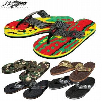 27ea20678bea Orbit  Beach Sandals ASTRODECK astrodeck blackline material   men s flip  flops size 3 3 color