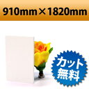 発泡塩ビ板 ピュアホワイト 910×1820mm 厚み2mm
