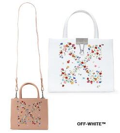 【2021年春夏モデル】OFF-WHITE(オフホワイト)レザーバッグ フラワーズアロー ミニショルダーバッグ クリップ レディース FLOWERS ARROW MINI BOX BAG【あす楽対応_関東】