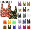 【柄タイプ】BAGGU(バグゥ)エコバッグ/スタンダードバグー/STANDARD BAGGU/ナイロントートバッグ/レジバッグ【あす楽…