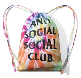 アンチソーシャルソーシャルクラブ(ANTI SOCIAL SOCIAL CLUB)リュック バックパック 巾着 レインボータイダイ ASSC【あす楽対応_関東】