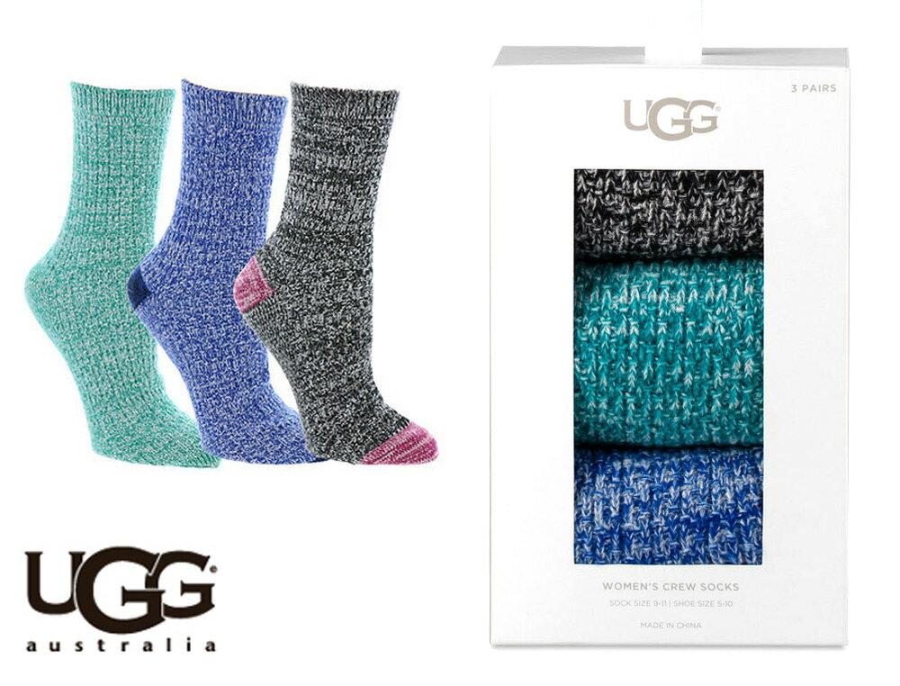 UGG(アグ)ソックス3足セット/ギフトボックス付き靴下/WOMEN'S CREW SOCK GIFT SET【あす楽対応_関東】