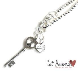 キャットハミル(Cat Hammill)ハートの鍵のペンダント/シルバーハートキーネックレス【あす楽対応_関東】