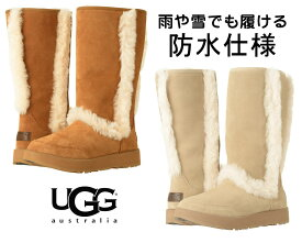 【防水仕様】UGG(アグ)Sundance Waterproof 雨や雪でも履けるロングムートンブーツ/レディース【あす楽対応_関東】