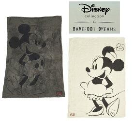 ベアフットドリームス×ディズニーコラボ ミッキーマウス、ミニーマウス クラシックブランケット/Barefoot Dreams/Disney Classic Mickey Mouse & Minnie Mouse Blanket【あす楽対応_関東】