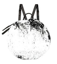 コートエシエル(Cote&Ciel)イタリアンレザーMOSELLEリュック ホワイトブラック/MOSELLE PRINTED ALIAS COWHIDE LEATHER White/Black 28662【あす楽対応_関東】