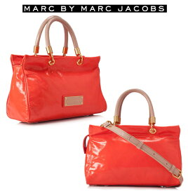 35909304a1cd マークジェイコブス(Marc by Marc Jacobs)2Wayエナメルサッチェルバッグ/斜め掛け&