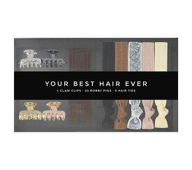 Kitsch(キッチュ)ボックス付きヘアアクセサリーセット/ヘアゴム/ブレスレット/Your Best Hair Ever Box【あす楽対応_関東】