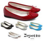 Repetto(レペット)サンドリオンバレエシューズCendrillonパテントレザーエナメルパンプスフラットシューズ革靴【あす楽対応_関東】