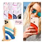 【iPhone11ケース】Casery(ケイスリー)iPhone11ケース/大理石マーブル柄/天然石パワーストーン柄/アイフォンカバー【あす楽対応_関東】